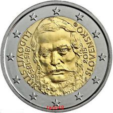 *Slovacchia 2015 2 euro  comm. Ludovit Stur nuovoFDC LEGGERE DESCRIZIONE