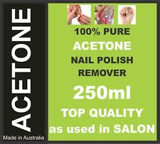 ACETONE 100% PURE, NAIL POLISH REMOVER, PAINT/GEL/ACRYLIC REMOVER 250ml,OZ Stock