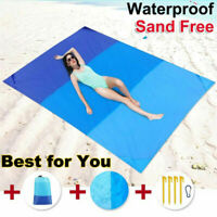 2 Size Extra Large Waterproof Picnic Blanket Outdoor Beach Camping Folding Mat