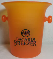 Vhtf Collectible Bacardi Breezer Plastic Ice Bucket