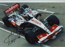 Pedro De La Rosa McLaren MP4-21 F1 Season 2006 Signed Photograph 4