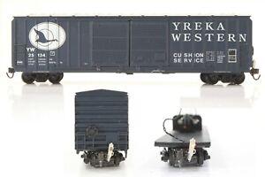 HO Athearn Yreka Western 50ft Railbox Double-SD Box Car w/ Operating EOT Device