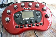 Pre owned Line6 Pod X3 Bean Multi effects guitar bass unit / interface