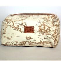 Prima Classe Beauty case beige seta Alviero Martini borsa viaggio