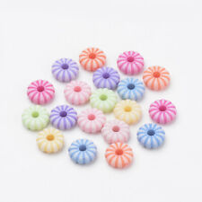 100 calabaza granos de alta calidad de color pastel - 9x3mm-Libre P&P