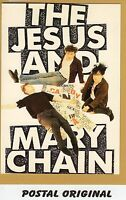 THE JESUS AND MARY CHAIN POSTAL NUEVA SIN SELLAR. POSTCARD. NEW. UNPOSTED