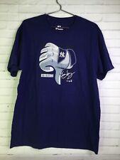 Fanatics New York Yankees Todd Frazier 29 Blue Thumbs Down T-Shirt Mens Size L