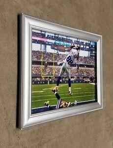 Dallas Cowboys Dez Bryant TD Endzone Shot Framed 8x10 Photo