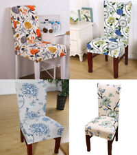 New Slipcovers Elastic Chair Cover Stretch Dining Room Seat