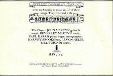 "(7/2/70) ADVERT 8X12"" JOHN & BEVERLEY MARTYN : STORMBRINGER"