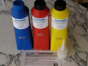 Rainbow Pack Toner Refills Konica Minolta Magicolor 8650 A0D7433 A0D7333 A0D7233