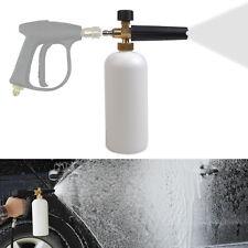 "Hot Car 1/4"" F Inlet Adjustable Snow Foam Lance Washer Soap 1L Bottle Wash Gun"