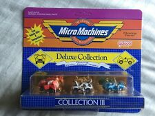 SUPER RARE UNCIRCULATED 1988 MICRO MACHINES DELUXE COLLECTION III 3 SHELBY COBRA