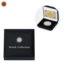 WR Collector's Presentation Box Single Coin Display Storage Case Holds 45mm Coin