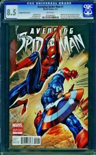 Avenging Spider-Man #1-CGC 8.5 VF+ J Scott Campbell Limited 1:100 Variant Cover