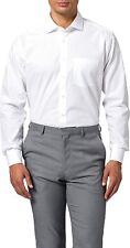 Seidensticker Herren Langarm Business Hemd Regular Kent weiß Gr. 44 / 165477.01