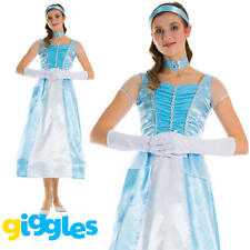 Adult Cinderella Costume Womens Fairytale World Book Day Week Fancy Dress Outfit