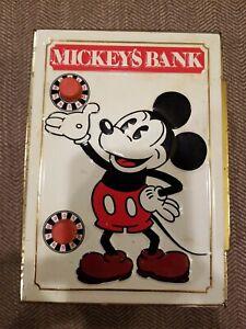 Fricke Nacke Walt Disney Productions 1978 Mickey's Bank Made in Western Germany