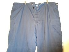 US COAST GUARD BLUE UNIFORM COMBAT CARGO PANTS PROPPER XX LARGE REGULAR 2X 19-G