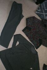 Lot of Mens Lululemon Dress Pants, Button Sweater and Hoodie sz L