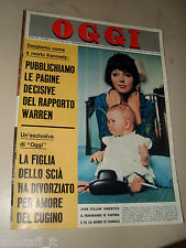 OGGI=1964/41=JOAN COLLINS=CATHERINE SPAAK=MARIO CORSO=GUNTHER SACHS=OTTIERI O.