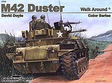 M42 Duster Walk Around, Bofors Anti Aircraft Gun (Squadron Signal 5705)