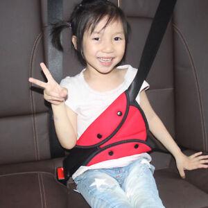 Rot Kinder Baby Sicherheitsgurt Fixierer Gurtpolster Einsteller Auto Gurtschutz
