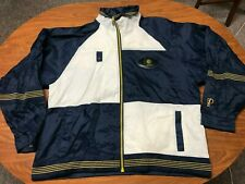 MENS VINTAGE 90'S PRO PLAYER INDIANA PACERS FULL ZIP LIGHTWEIGHT JACKET LARGE
