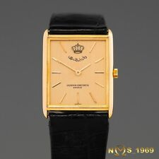 VACHERON  CONSTANTIN 18K GOLD  KING HUSSEIN OF JORDAN EMBLEM  GOLD  DIAL  BOX