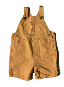 Carhartt Toddler Brown Overalls Size 4T