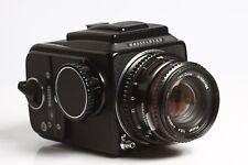 Hasselblad 500 C/M Black + Zeiss Planar C 2,8/80 T* Black + Magazin A12 Black
