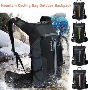 Cycling Backpack Breathable Waterproof Pouch Hiking Bicycle Rucksack Bike Bag`