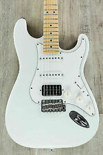 Suhr Classic S HSS Guitar Olympic White Maple Fretboard SSCII Noise Reduction