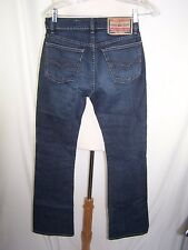 Diesel Industry Blue Denim Men's Regular Straight Mod Fanker Jeans Sz 26 28 X 31