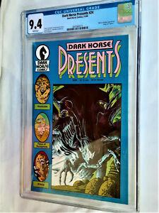 Dark Horse Presents #24*ORIGIN OF ALIENS*CGC GRADE 9.4 Near Mint*WHITE PAGES*