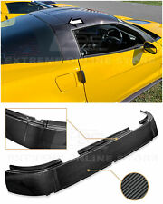 EOS For 05-13 Corvette C6 | Factory Style CARBON FIBER Roof B-Pillar Halo Cover