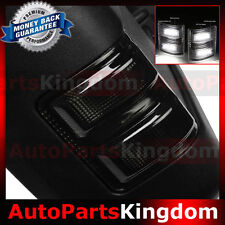 Smoke Lens White LED Side Mirror Marker Light 2008-2016 Ford F250 F350 F450 F550