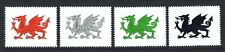 GB Local Isle of Anglesey St.David's Day Colour Trial Proofs Welsh Dragon UNM