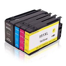 Lot 4 cartouches générique HP 950XL HP 951XL Officejet Pro 8100 8600 8610