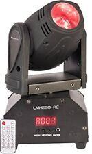 Ibiza Lmh250-rc Lyre Beam a LED RVBB 10w DMX avec Téléc