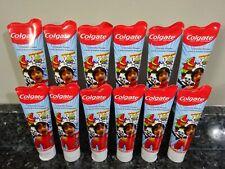 12 Colgate Kid's RYAN'S WORLD Bubble Fruit Anticavity Fluoride Toothpaste 4.6 oz