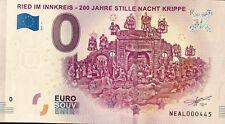 BILLET 0 EURO SOUVENIR TOURISTIQUE RIED IM INNKREIS 200 JAHRE STILLE NACHT2019-1