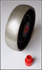 "TOP 6"" grit 80 convex lapidary diamond cabbing grinding wheel 80grit"