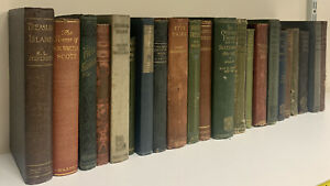 Vintage Hardback Books for Display Purposes - Box of Over 20 Books - see photos