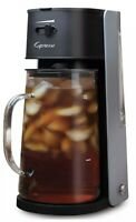 New Capresso Iced Tea maker with 80oz Glass Carafe and Removable Water Tank