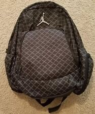 Air Jordan Jumpman 23 Backpack Black Grey Silver 9A1115 023 Laptop New With Tags