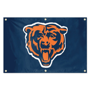 Chicago Bears Banner Flag NFL Football