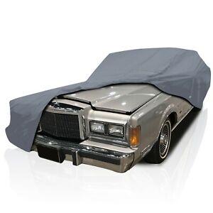 4 Layer Semi Custom Water Resistant Full Car Cover for Buick Regal 1973-1977