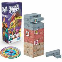 Hasbro Kid's Jenga Game Fortnite Edition, Wooden Blocks Stacking Game For Age 8+