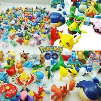 24Pcs Pokemon Monster Mini Figure Action Figures in Cute Toys Gifts Random